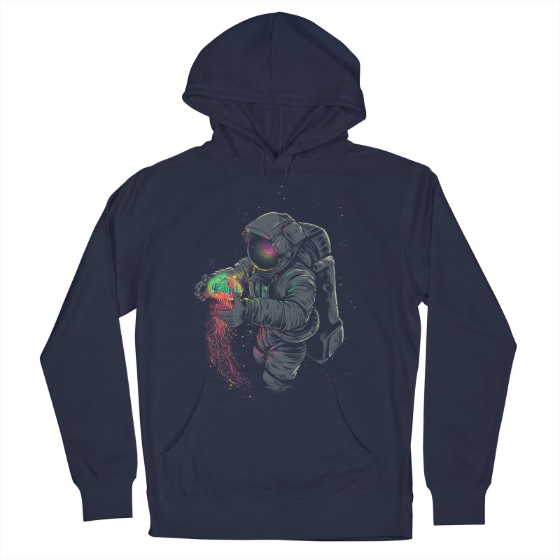 JellySpace Women's French Terry Pullover Hoody by angoes25's Artist Shop