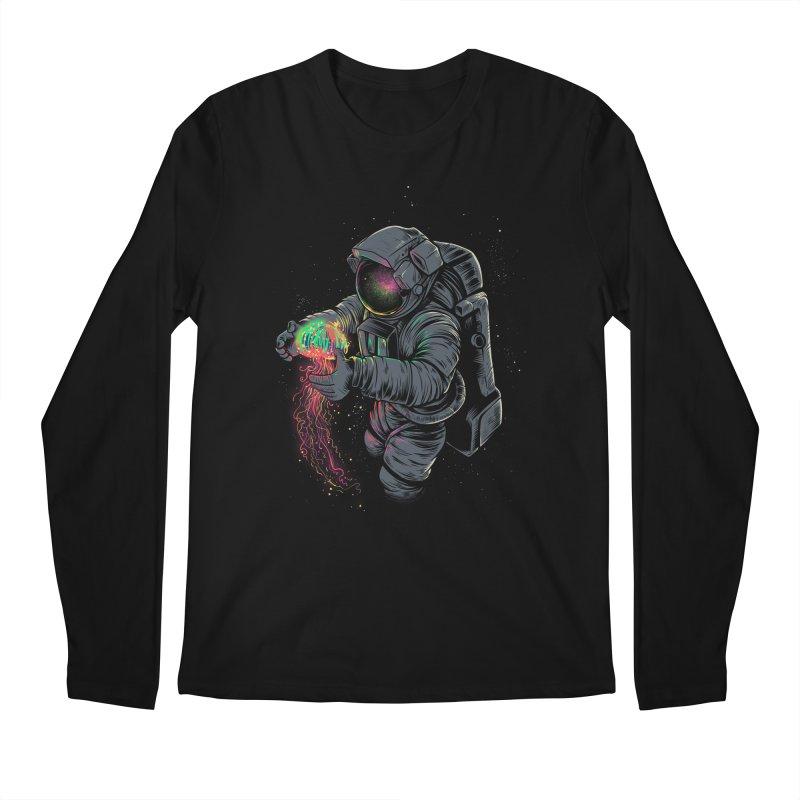 JellySpace Men's Regular Longsleeve T-Shirt by angoes25's Artist Shop