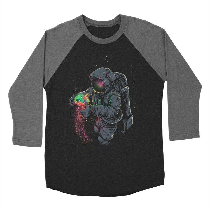 JellySpace Women's Baseball Triblend Longsleeve T-Shirt by angoes25's Artist Shop