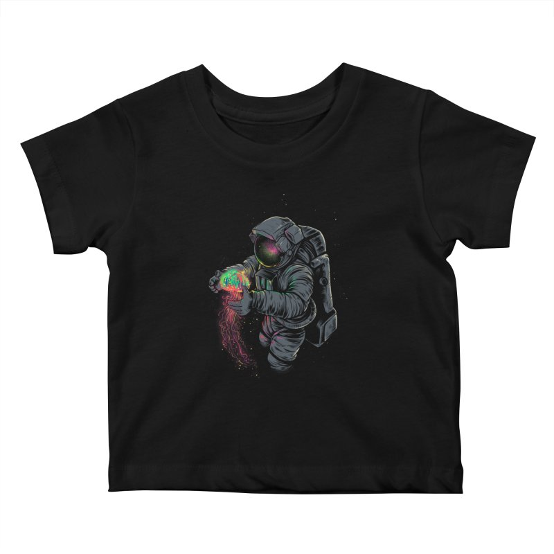 JellySpace Kids Baby T-Shirt by angoes25's Artist Shop