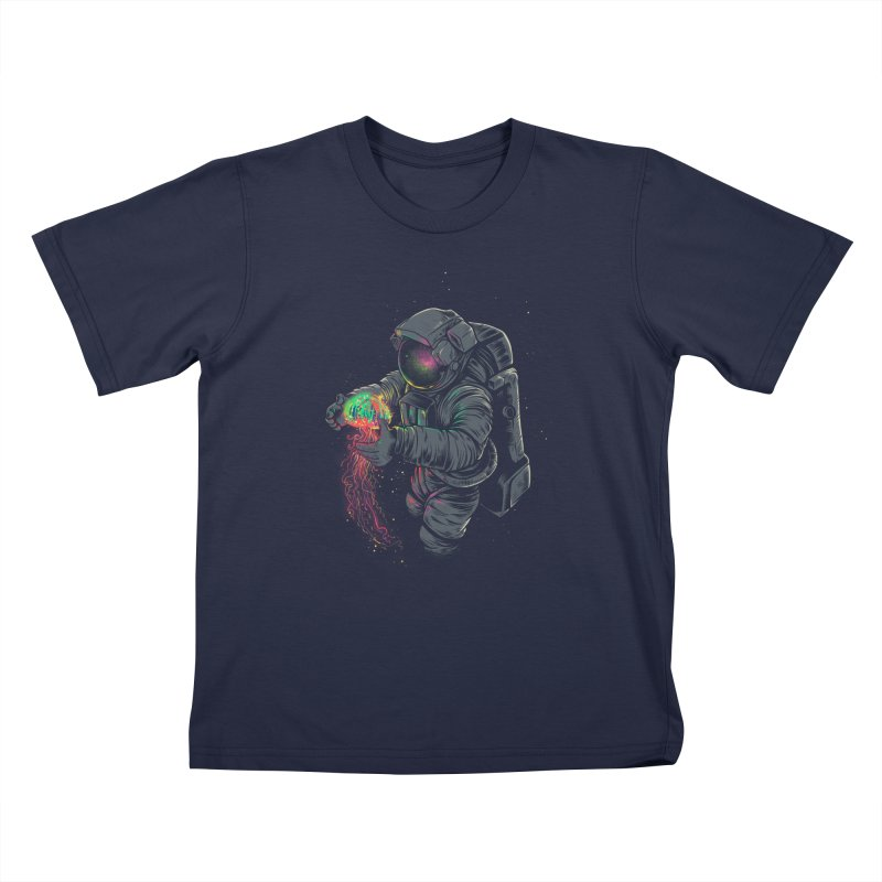JellySpace Kids T-Shirt by angoes25's Artist Shop