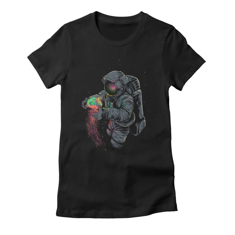 JellySpace Women's Fitted T-Shirt by angoes25's Artist Shop