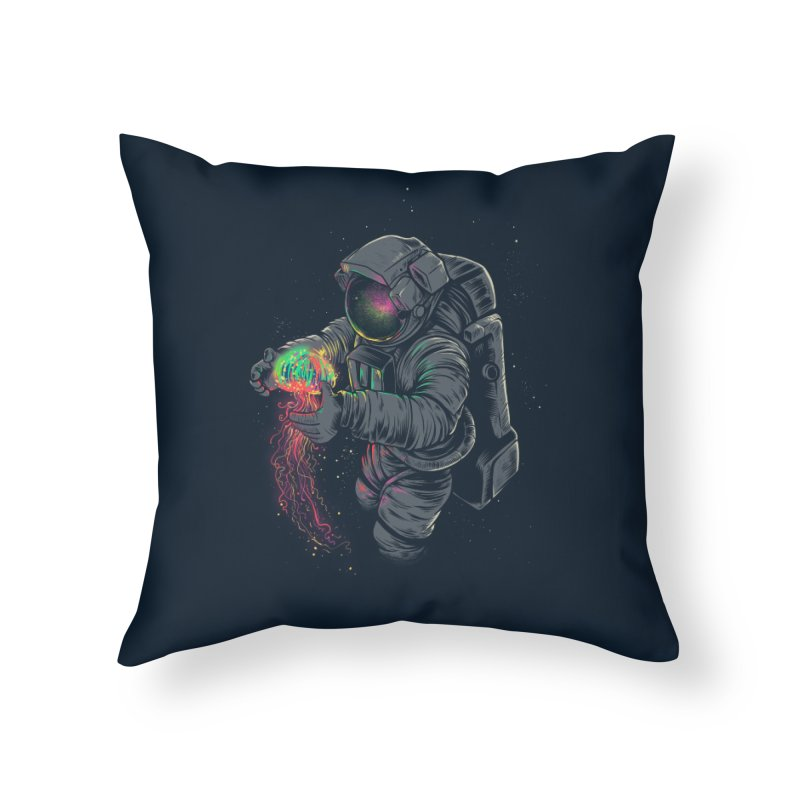 JellySpace Home Throw Pillow by angoes25's Artist Shop
