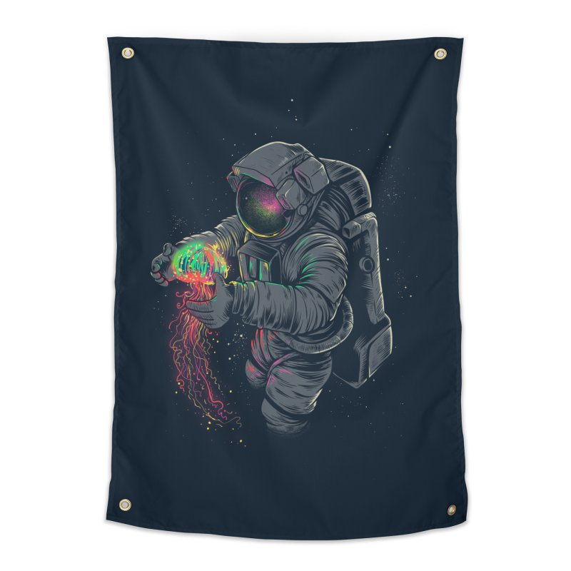 JellySpace Home Tapestry by angoes25's Artist Shop