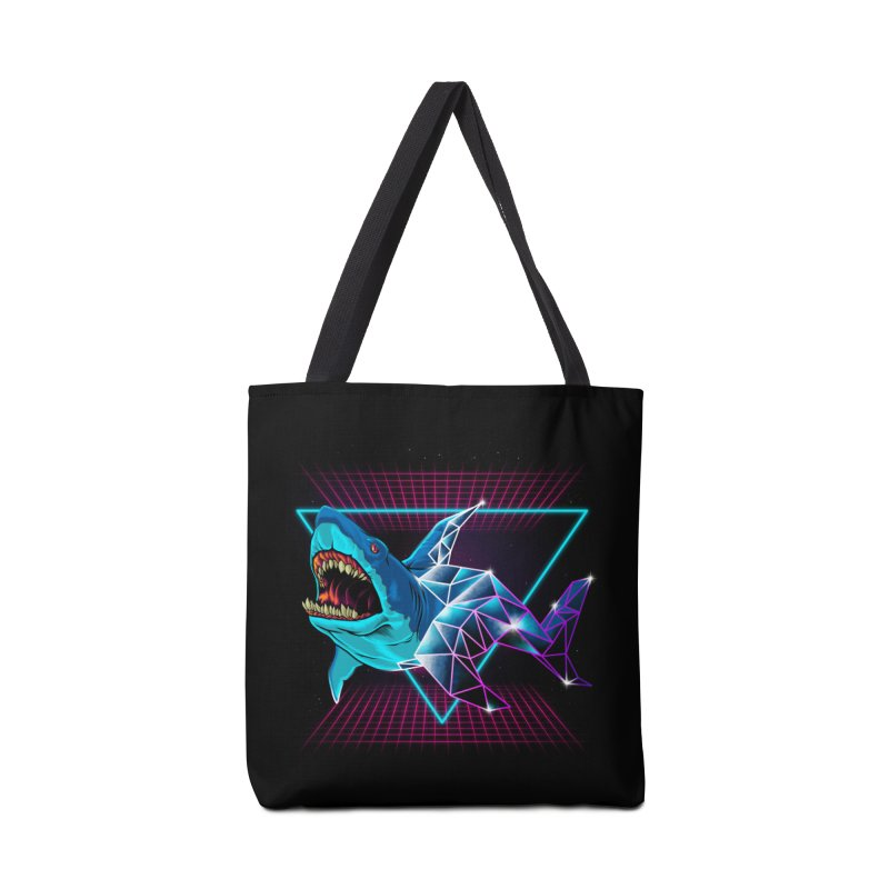 Shark 80's Accessories Bag by angoes25's Artist Shop