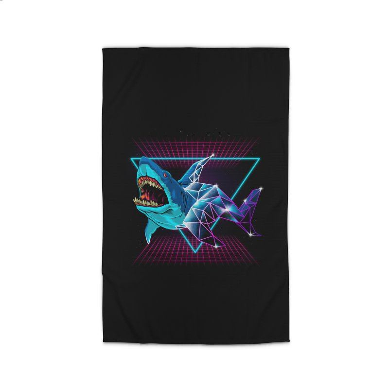 Shark 80's Home Rug by angoes25's Artist Shop