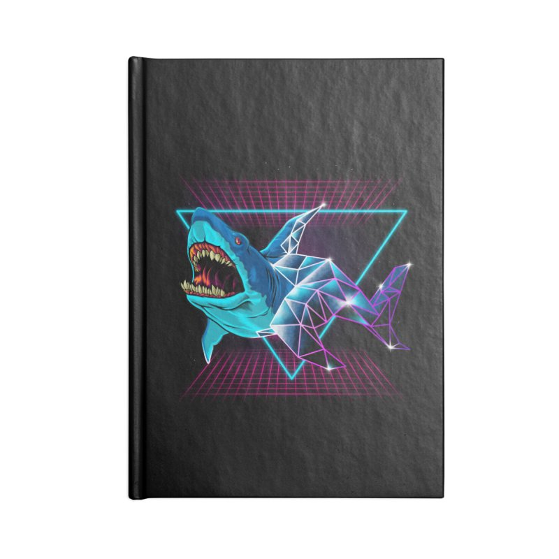 Shark 80's Accessories Notebook by angoes25's Artist Shop