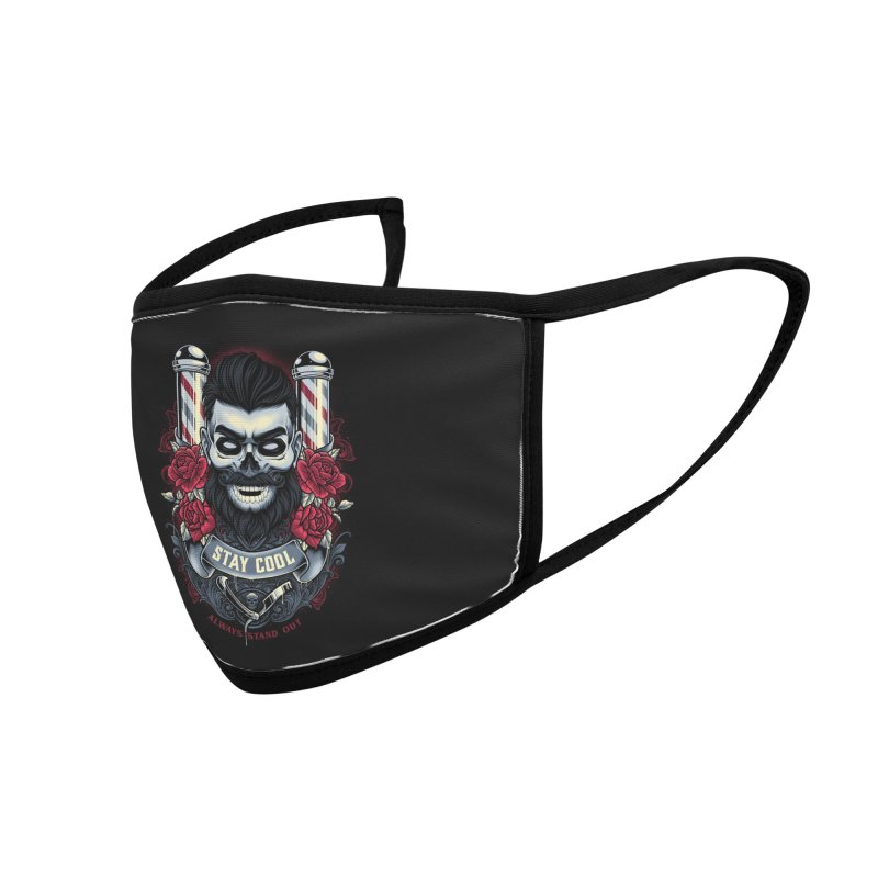 Stay Cool Accessories Face Mask by angoes25's Artist Shop