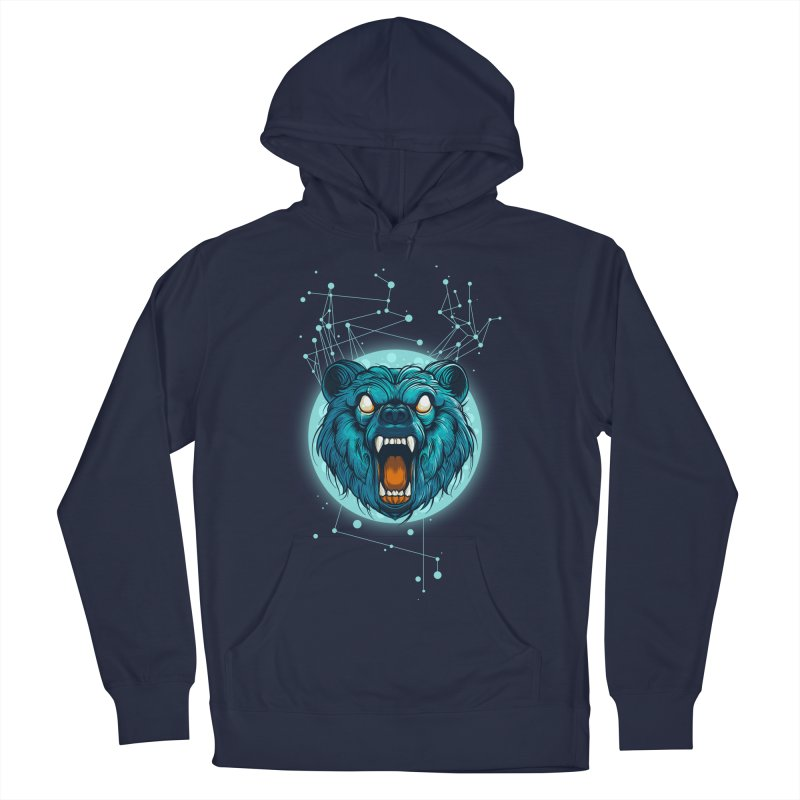 Bear Women's French Terry Pullover Hoody by angoes25's Artist Shop