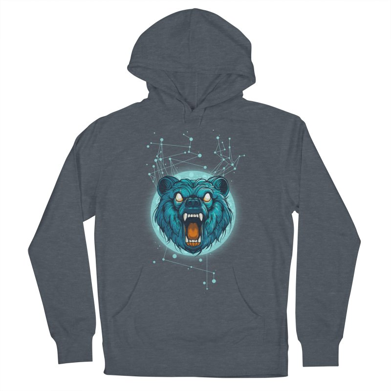 Bear Men's French Terry Pullover Hoody by angoes25's Artist Shop