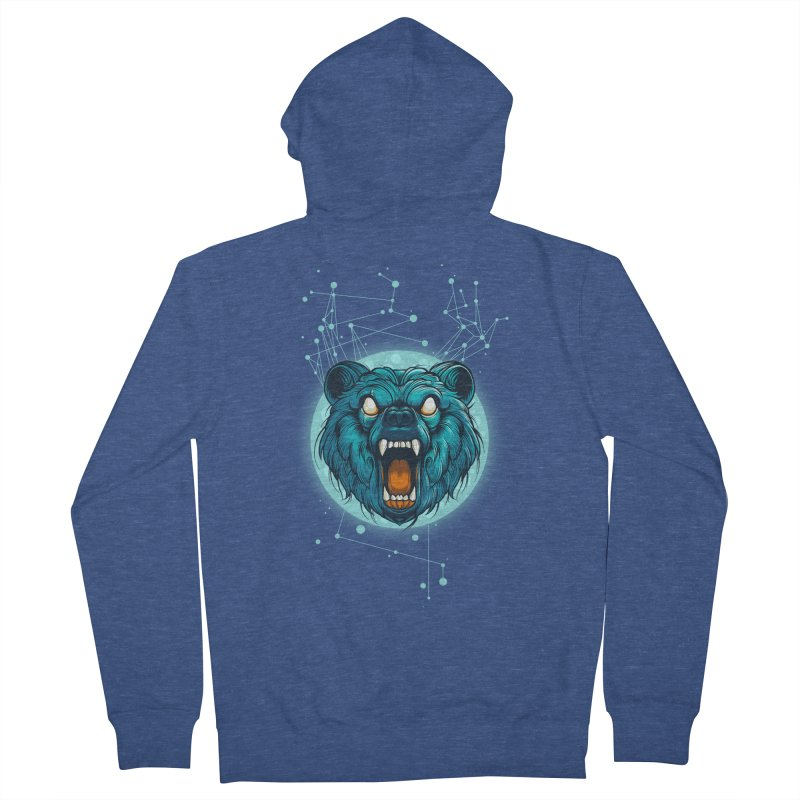 Bear Women's Zip-Up Hoody by angoes25's Artist Shop