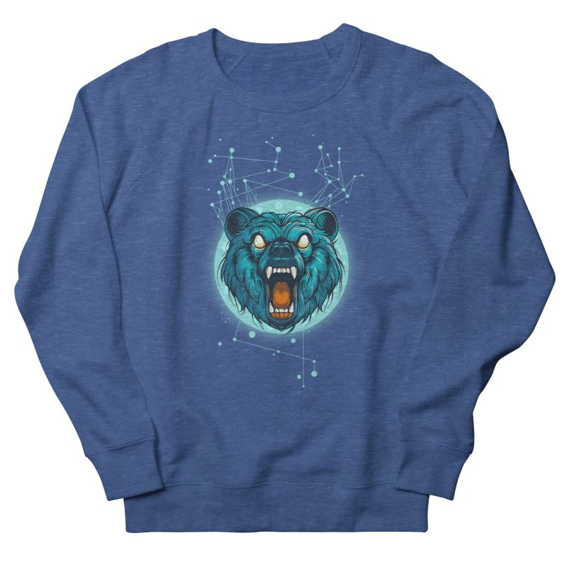 Bear Women's French Terry Sweatshirt by angoes25's Artist Shop