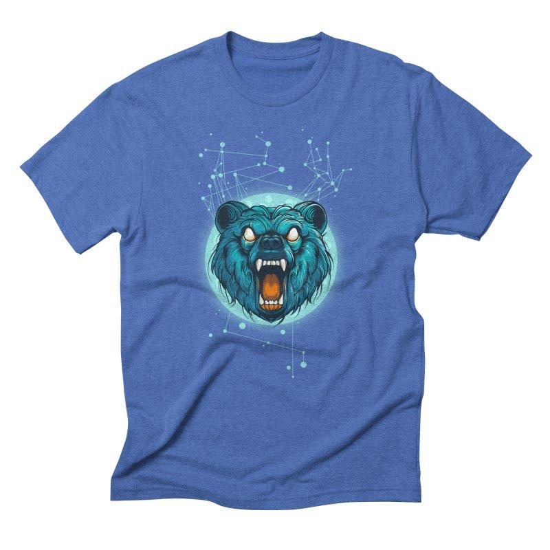 Bear Men's Triblend T-shirt by angoes25's Artist Shop