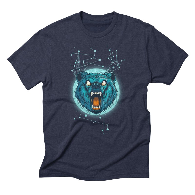 Bear Men's Triblend T-Shirt by angoes25's Artist Shop