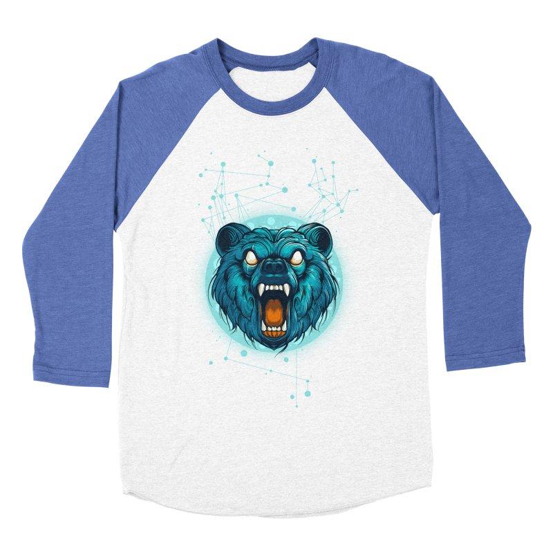 Bear Women's Baseball Triblend Longsleeve T-Shirt by angoes25's Artist Shop