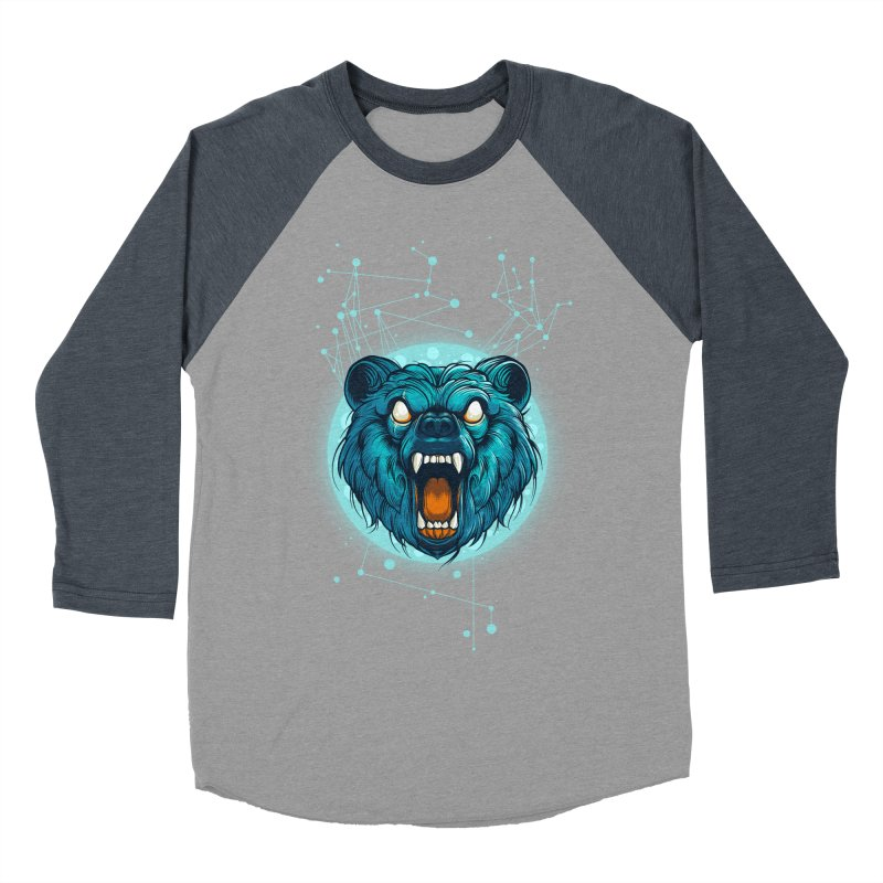 Bear Women's Baseball Triblend Longsleeve T-Shirt by angoes25's Artist Shop