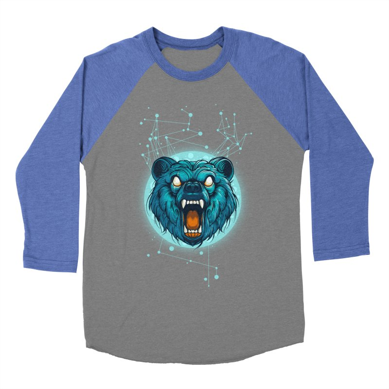 Bear Men's Baseball Triblend T-Shirt by angoes25's Artist Shop