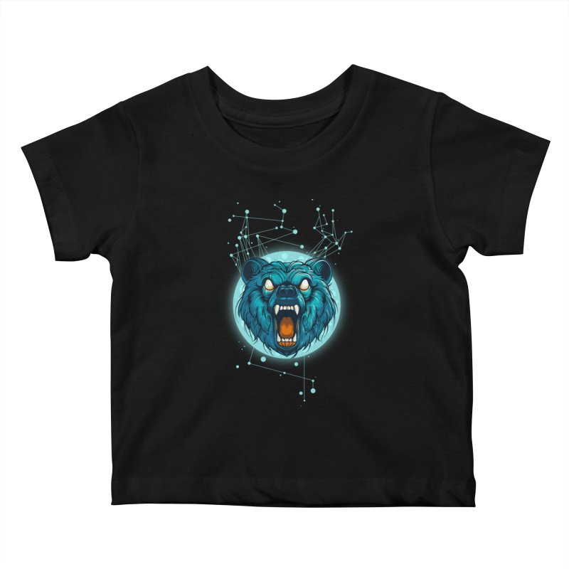 Bear Kids Baby T-Shirt by angoes25's Artist Shop