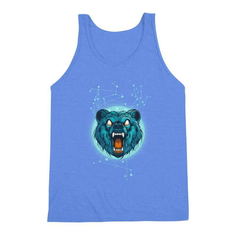 Bear Men's Triblend Tank by angoes25's Artist Shop