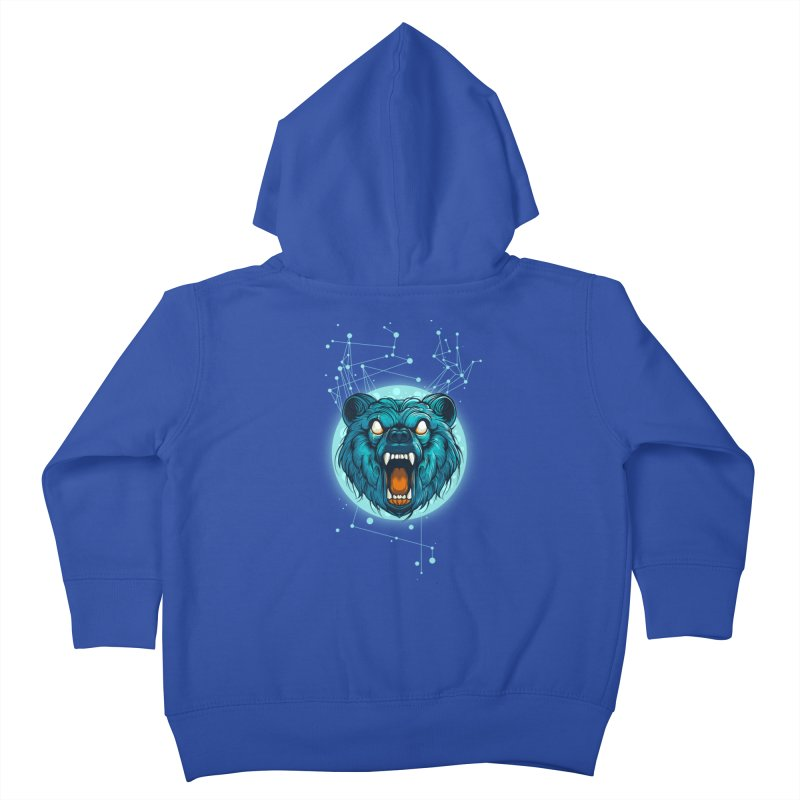 Bear Kids Toddler Zip-Up Hoody by angoes25's Artist Shop