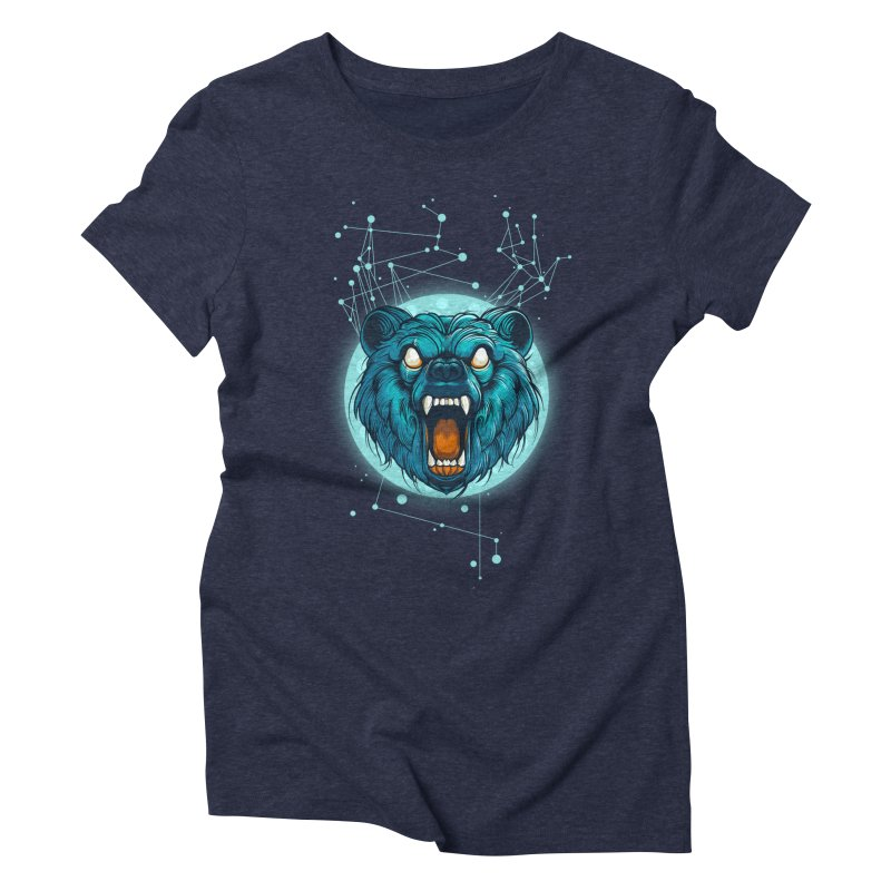 Bear Women's Triblend T-Shirt by angoes25's Artist Shop