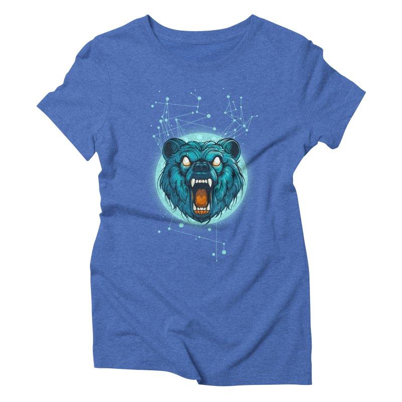 Bear Women's Triblend T-shirt by angoes25's Artist Shop
