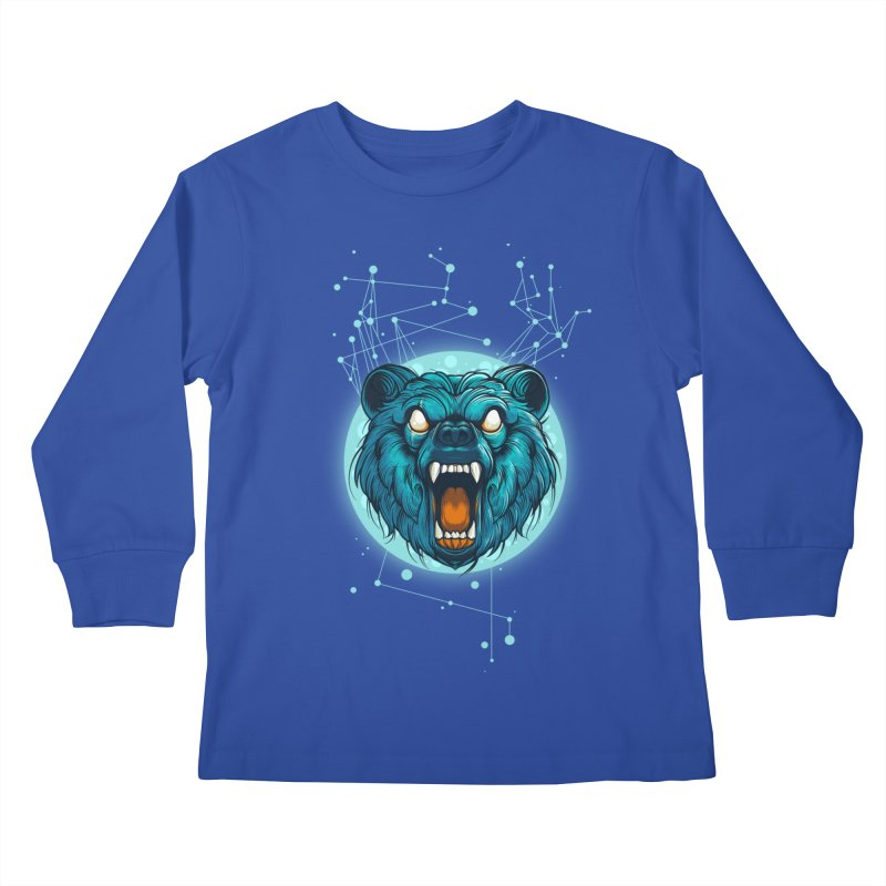 Bear Kids Longsleeve T-Shirt by angoes25's Artist Shop