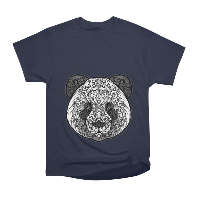 Panda-zen Women's Heavyweight Unisex T-Shirt by angoes25's Artist Shop