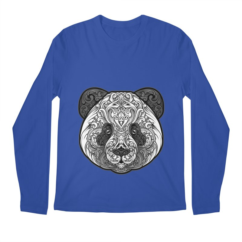 Panda-zen Men's Longsleeve T-Shirt by angoes25's Artist Shop