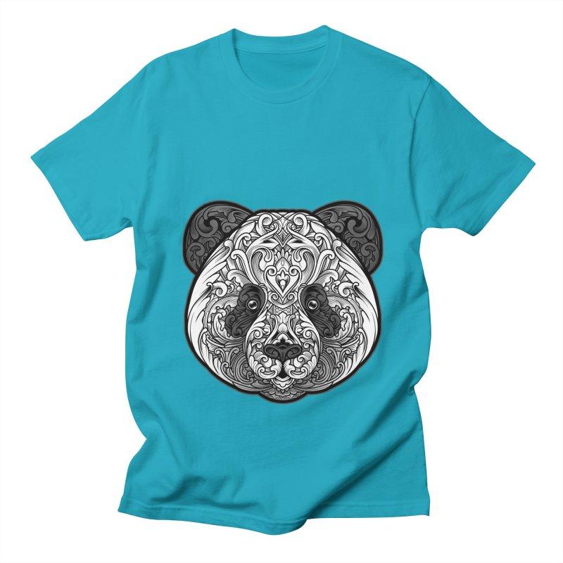 Panda-zen Men's T-Shirt by angoes25's Artist Shop