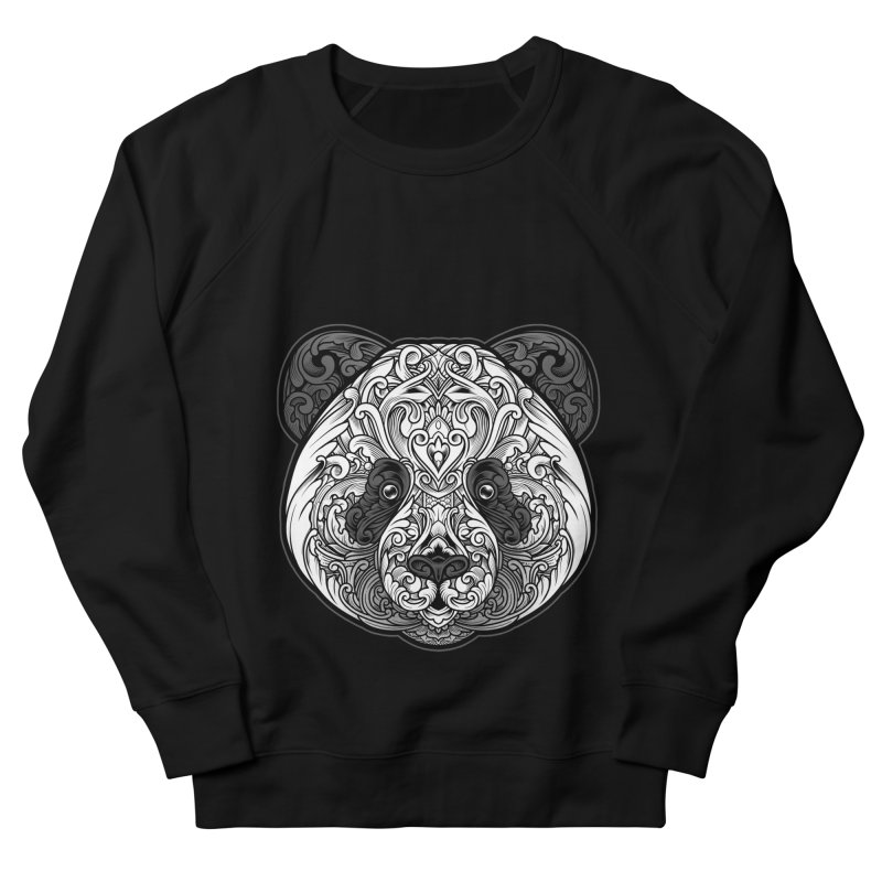 Panda-zen Women's French Terry Sweatshirt by angoes25's Artist Shop