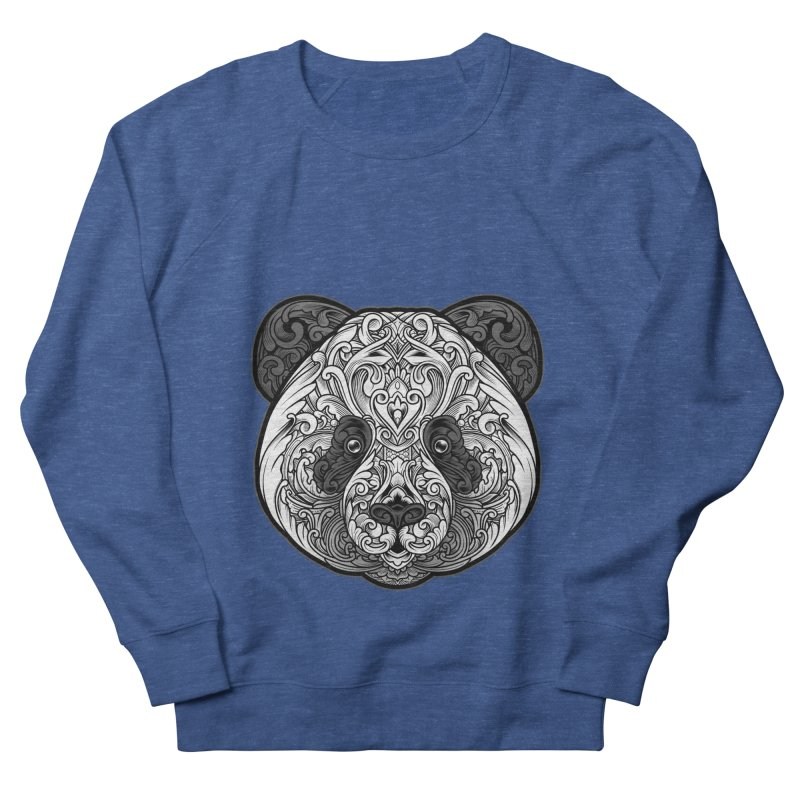 Panda-zen Men's French Terry Sweatshirt by angoes25's Artist Shop