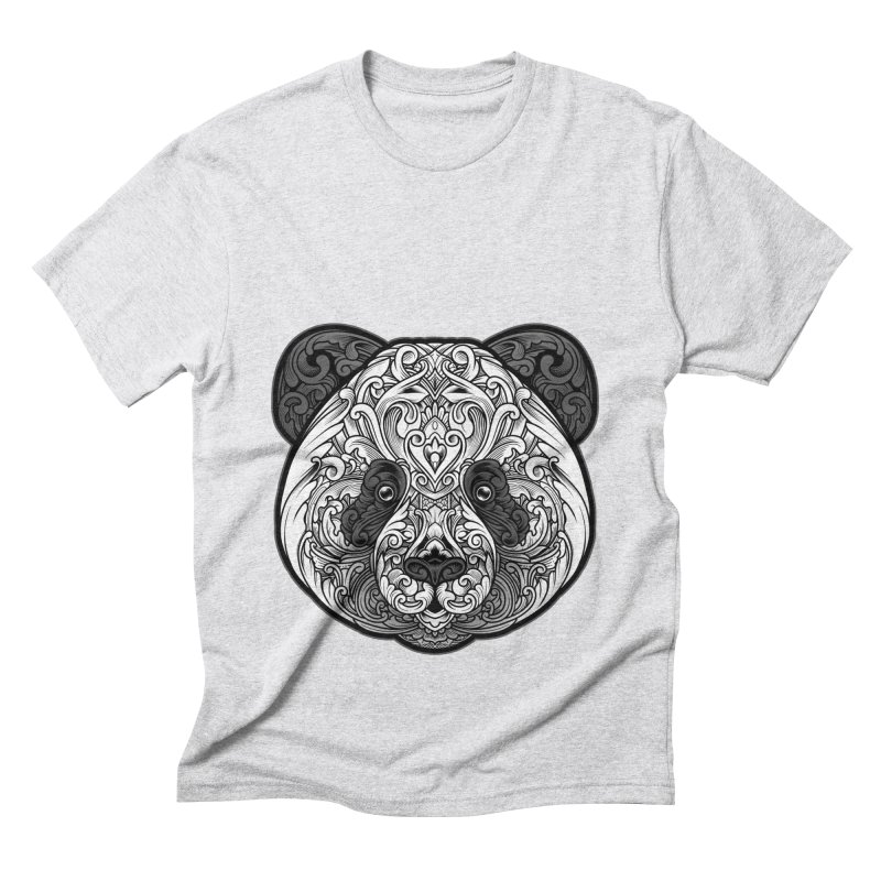 Panda-zen Men's Triblend T-Shirt by angoes25's Artist Shop