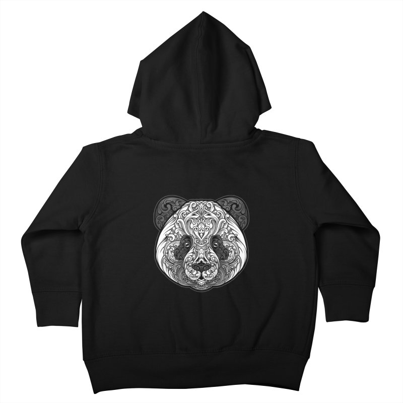 Panda-zen Kids Toddler Zip-Up Hoody by angoes25's Artist Shop