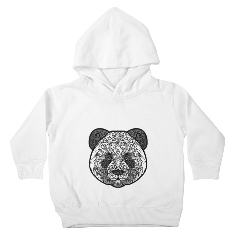 Panda-zen Kids Toddler Pullover Hoody by angoes25's Artist Shop