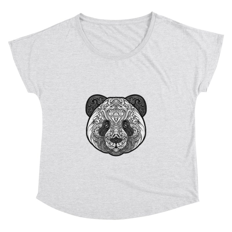 Panda-zen Women's Dolman Scoop Neck by angoes25's Artist Shop