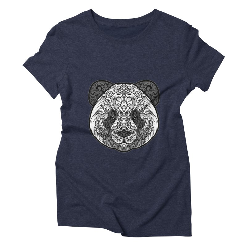 Panda-zen Women's Triblend T-Shirt by angoes25's Artist Shop