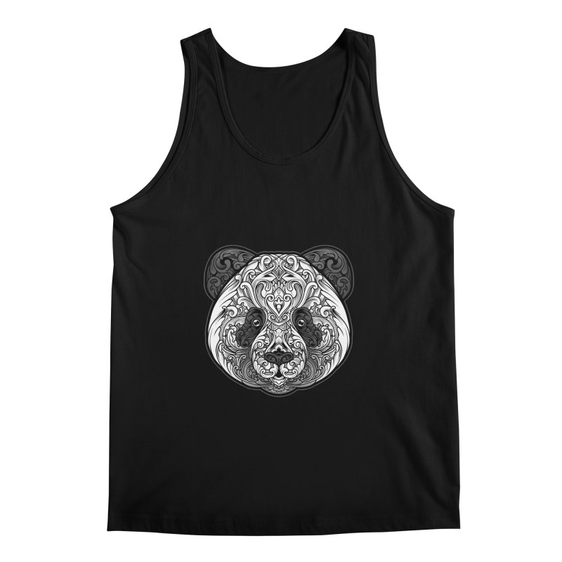 Panda-zen Men's Regular Tank by angoes25's Artist Shop