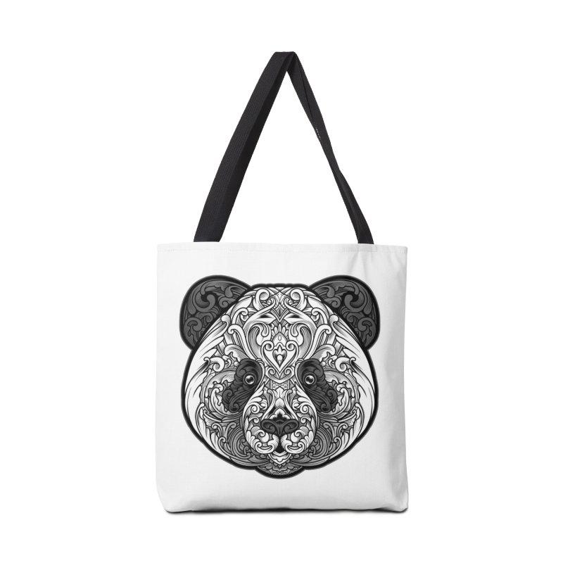 Panda-zen Accessories Bag by angoes25's Artist Shop