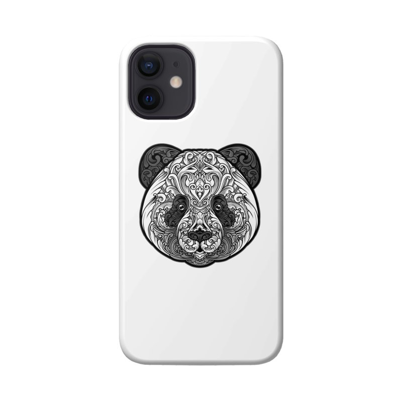 Panda-zen Accessories Phone Case by angoes25's Artist Shop