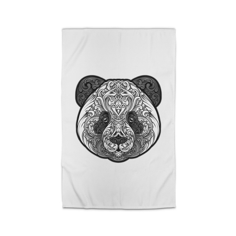 Panda-zen Home Rug by angoes25's Artist Shop