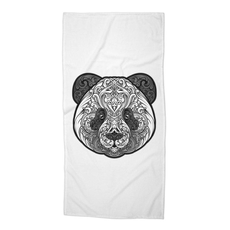 Panda-zen Accessories Beach Towel by angoes25's Artist Shop