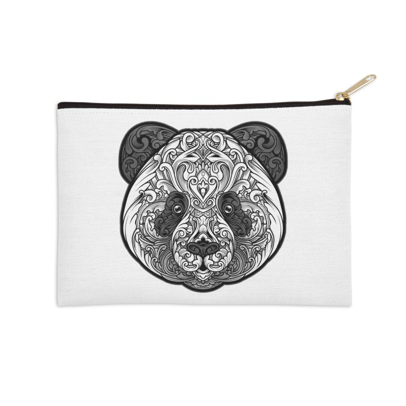 Panda-zen Accessories Zip Pouch by angoes25's Artist Shop