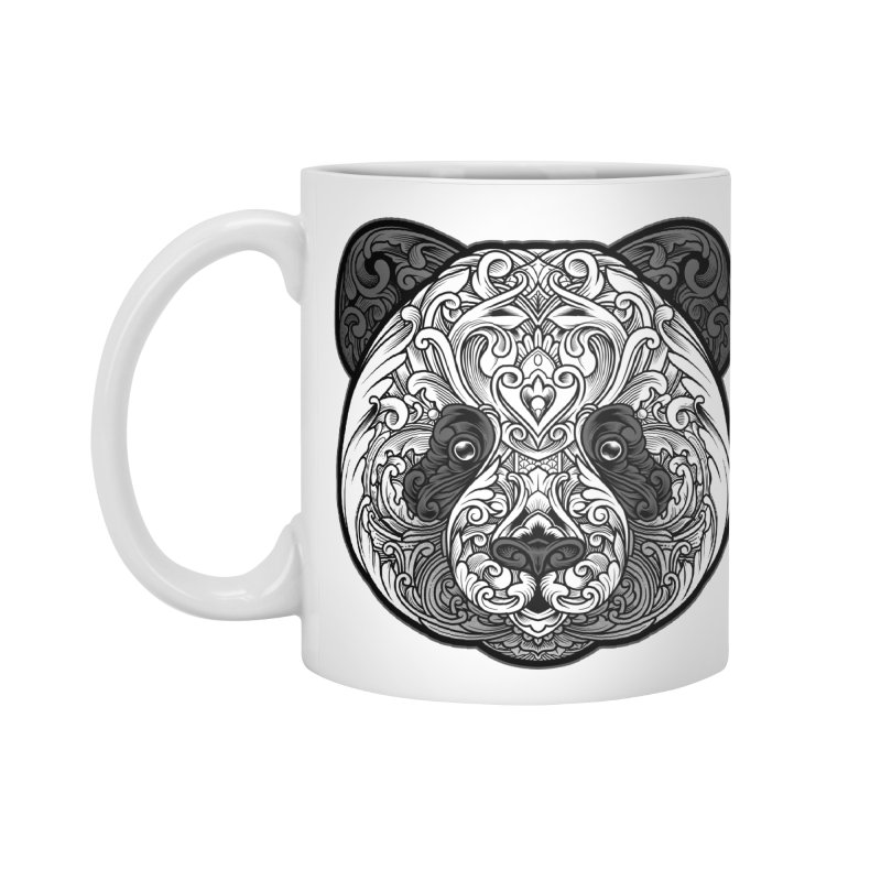 Panda-zen Accessories Standard Mug by angoes25's Artist Shop