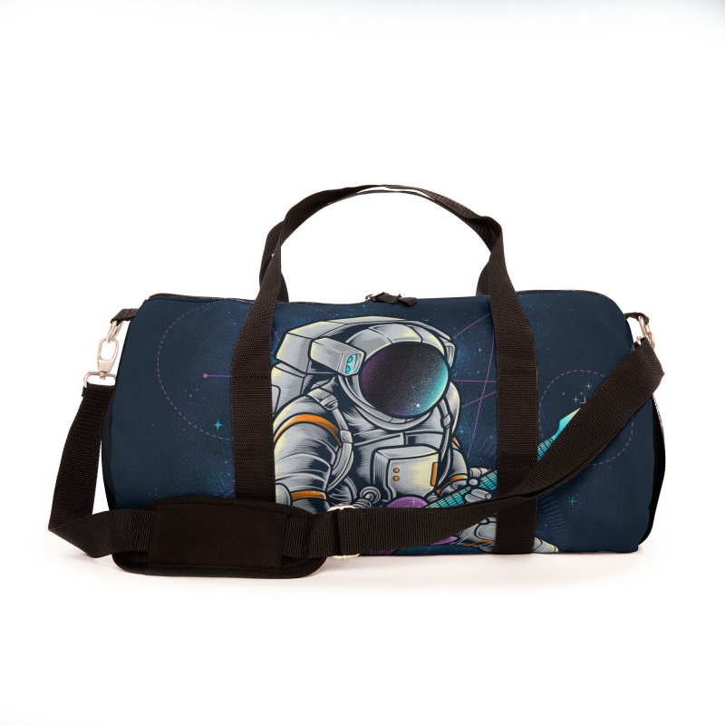 Rocker spaceman Accessories Bag by angoes25's Artist Shop
