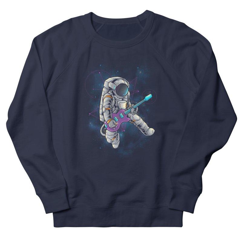 Rocker spaceman Women's Sweatshirt by angoes25's Artist Shop