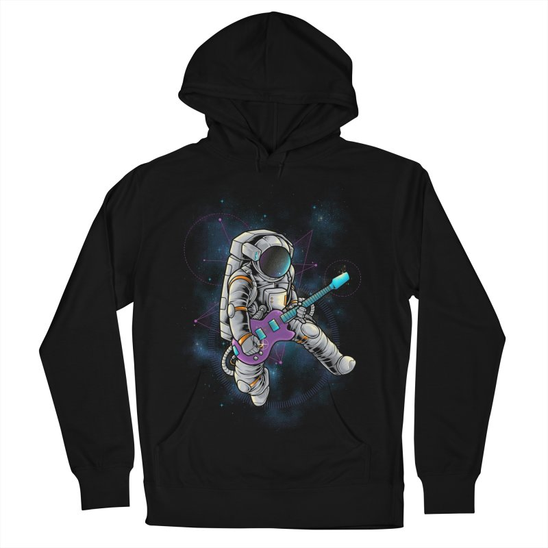 Rocker spaceman Women's French Terry Pullover Hoody by angoes25's Artist Shop
