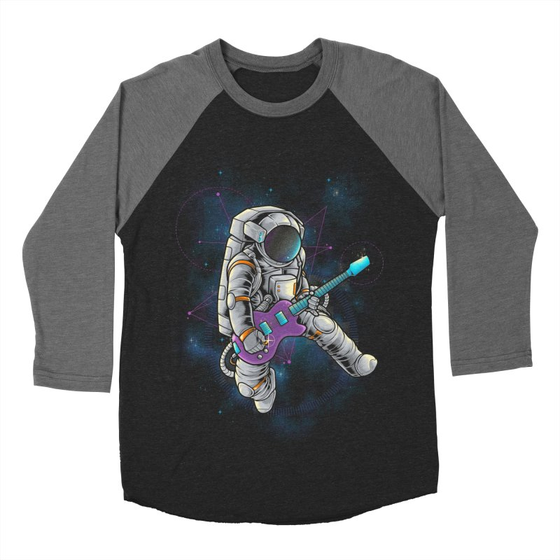 Rocker spaceman Women's Baseball Triblend Longsleeve T-Shirt by angoes25's Artist Shop
