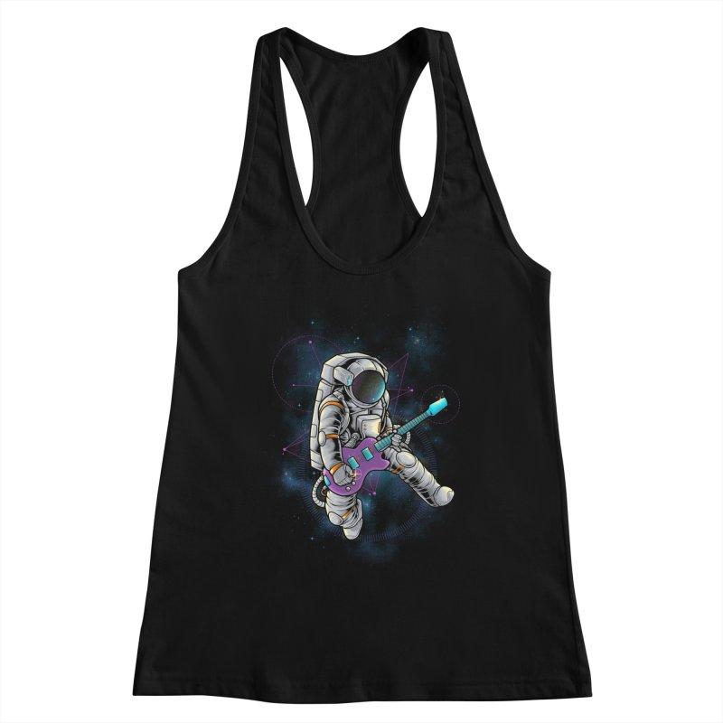 Rocker spaceman Women's Tank by angoes25's Artist Shop