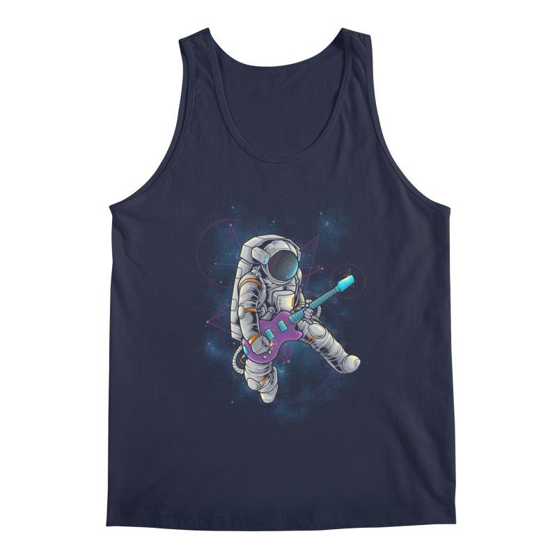 Rocker spaceman Men's Tank by angoes25's Artist Shop